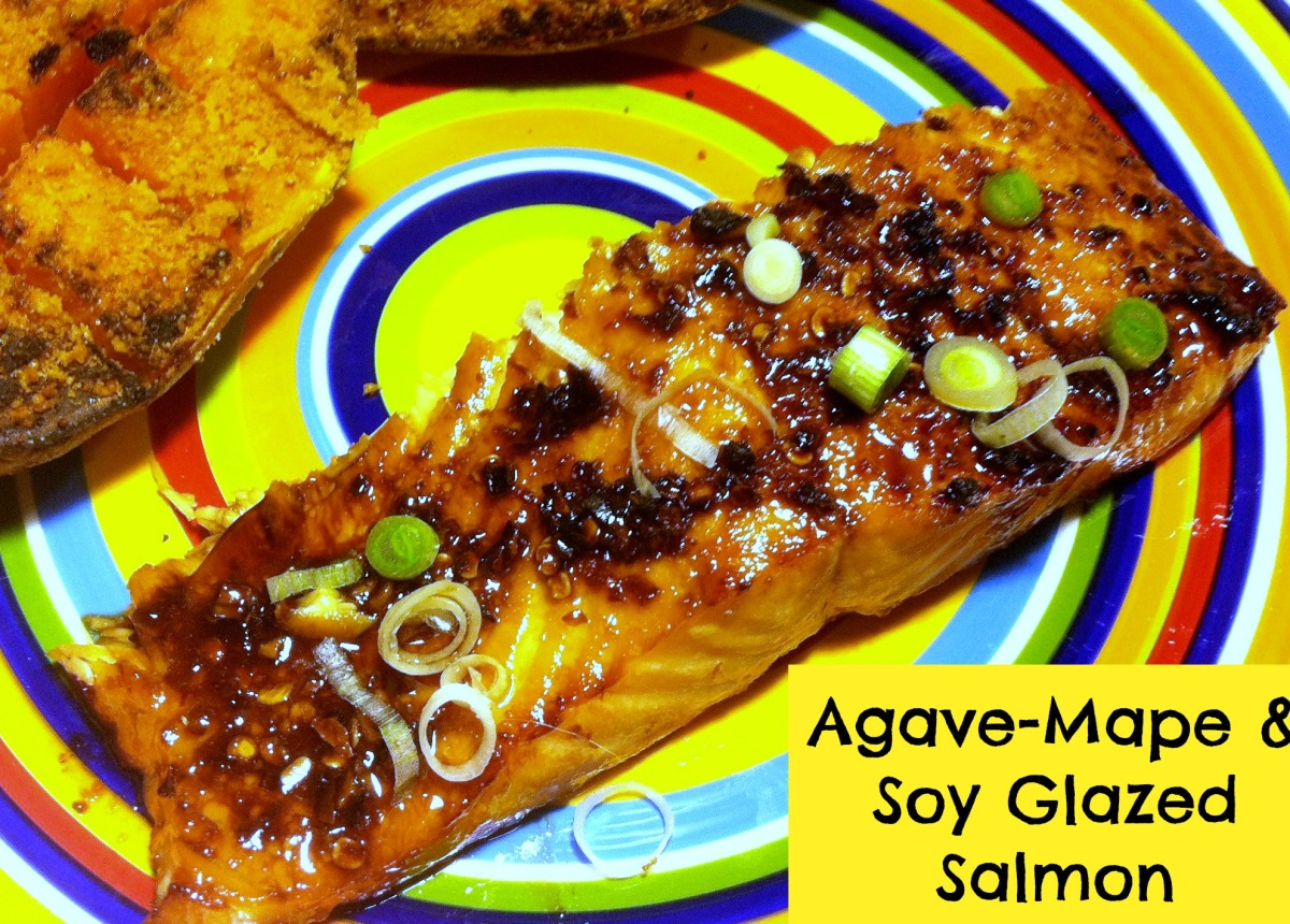 Agave-Maple & Soy Glazed Salmon