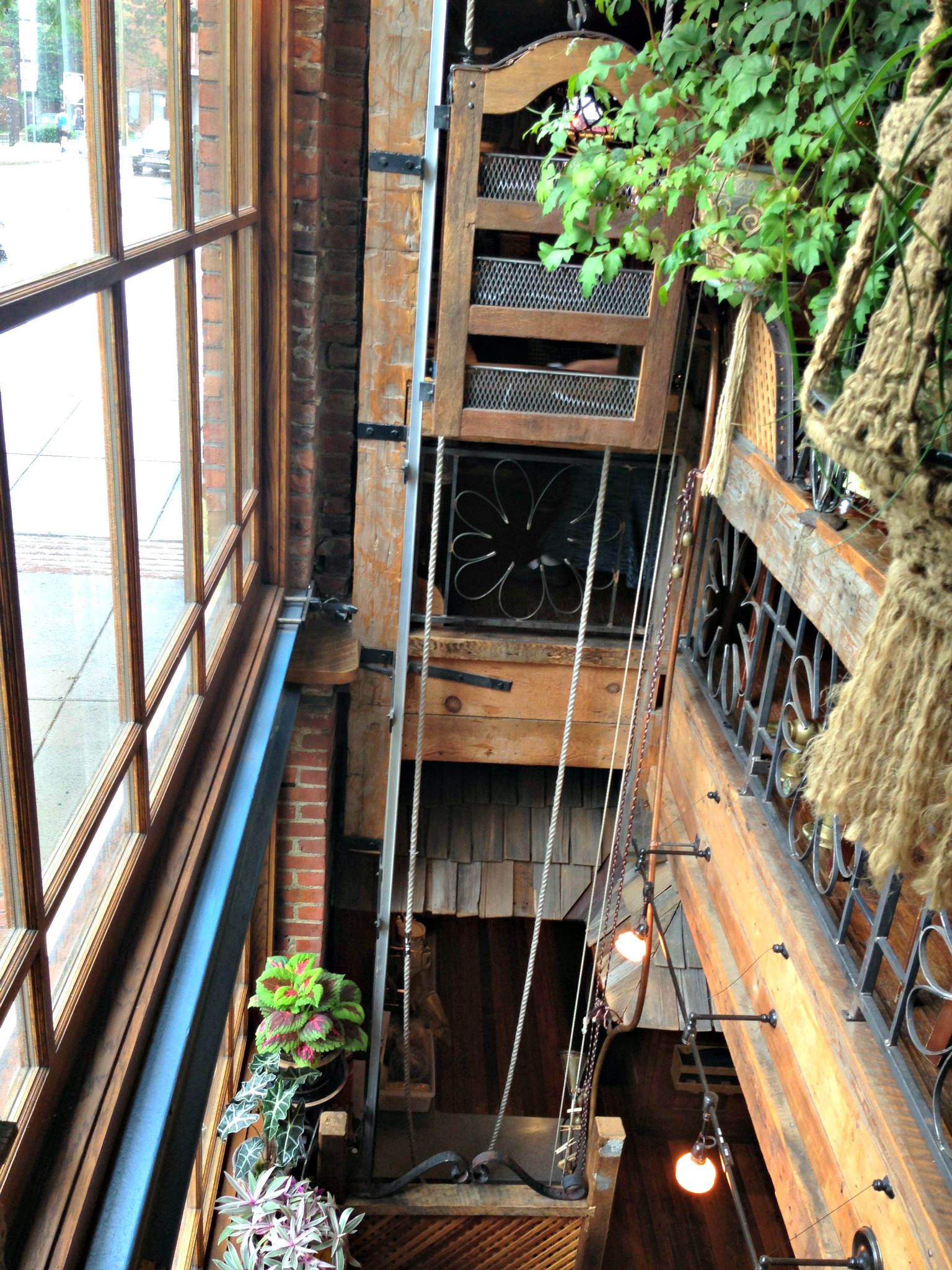 Oneonta ny the yellow deli sole for the soul for Dumbwaiter plans