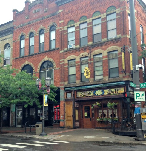 Oneonta, NY: The Yellow Deli