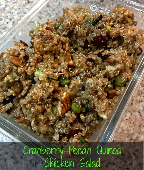 Cranberry-Pecan Quinoa Chicken Salad