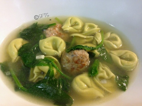 Healthy-Tortellini-Soup-Chicken-Meatballs