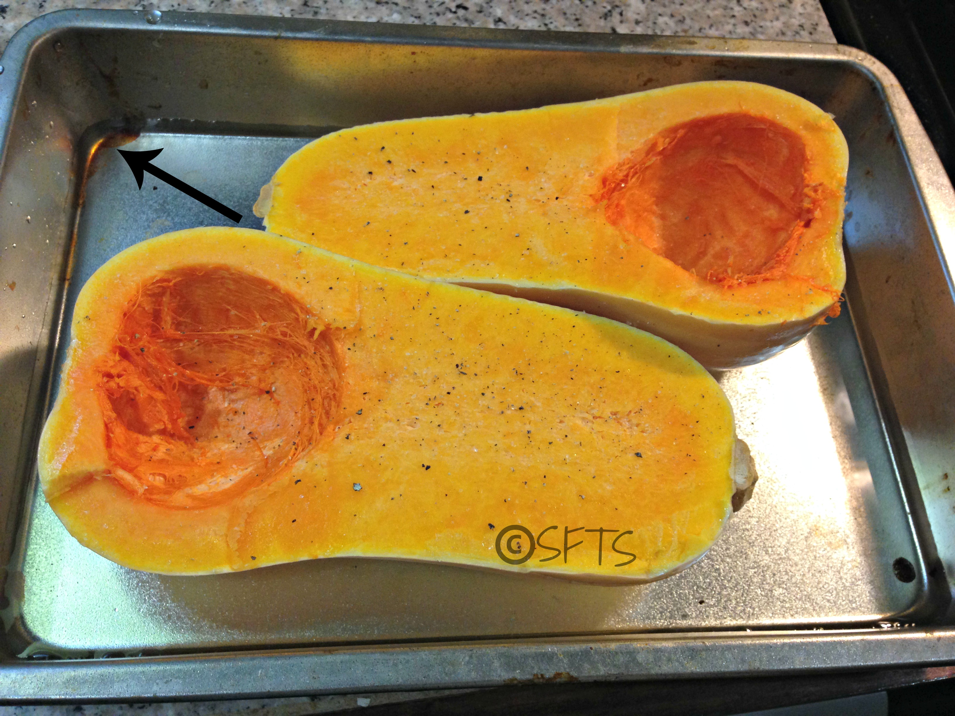 Twice Baked Butternut Squash with Quinoa + Pecans | SOLE for the Soul